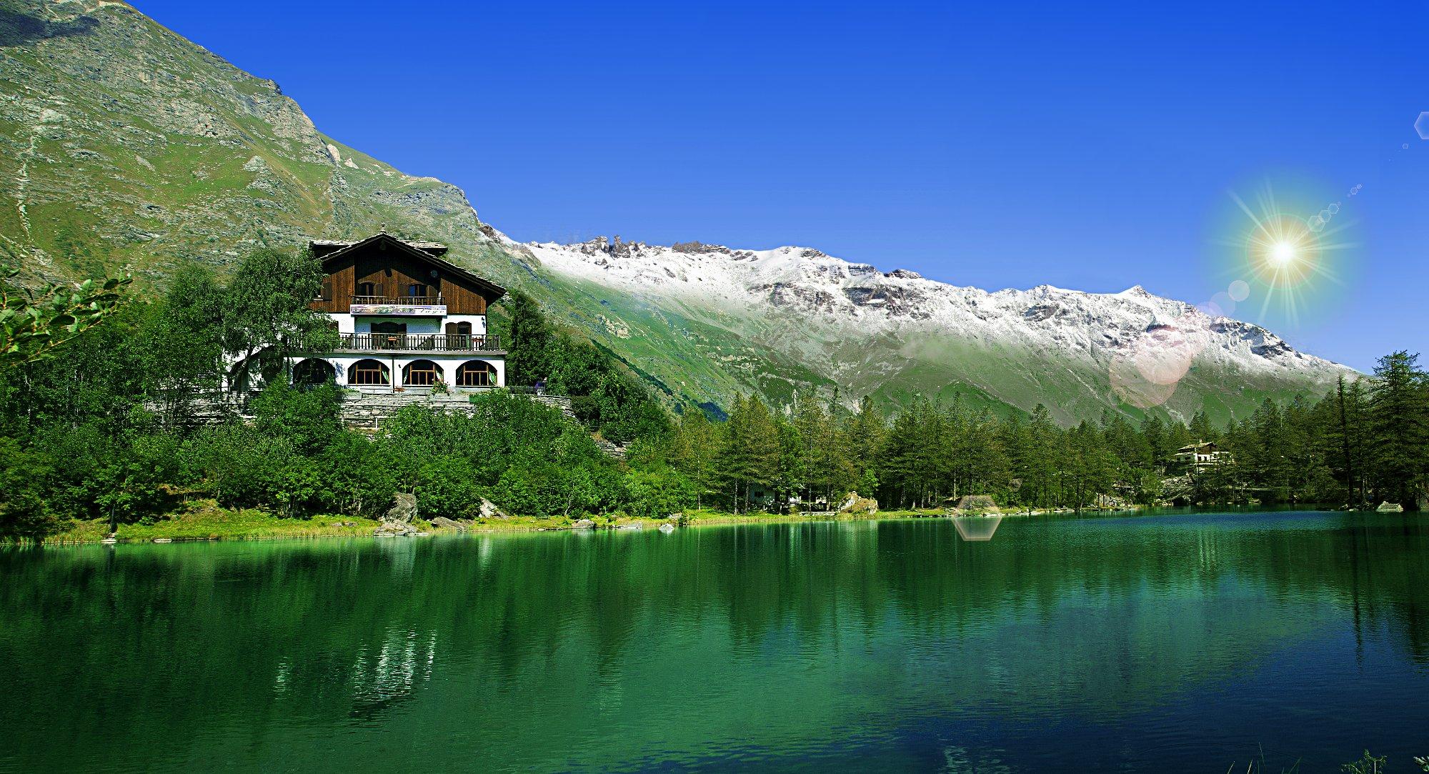 Offerta Hotel, albergo, ristorante Chalet sul lago, bed and ...